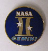Gemini Program Lapel Pin
